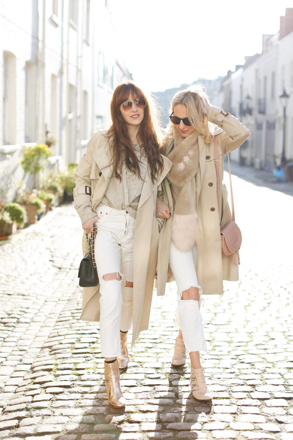 Belle & bunty london classic trench coat street style fashion bloggers