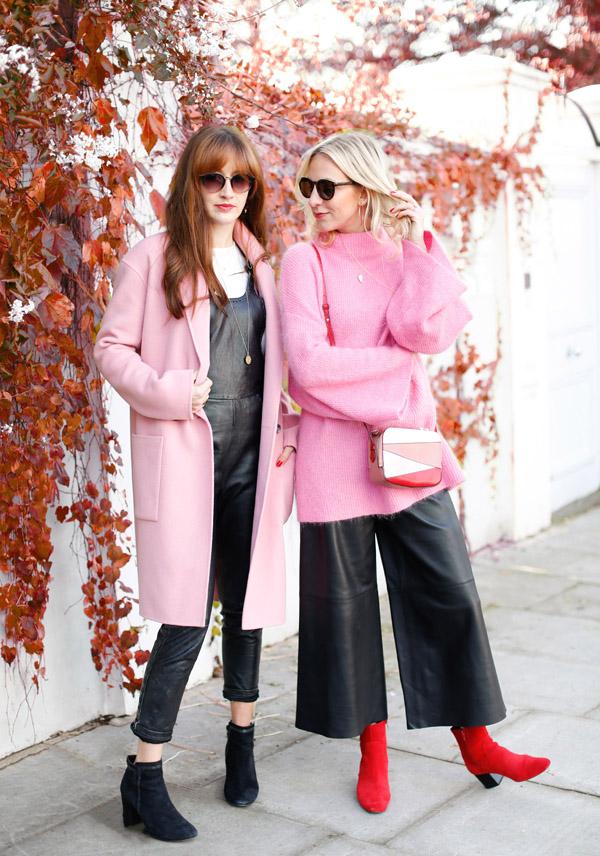 belle & bunty london street style fashion bloggers designers shoot pink