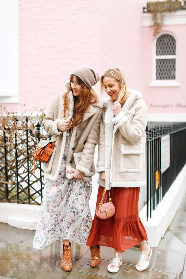 belle & bunty london fashion week street style looks bicester village