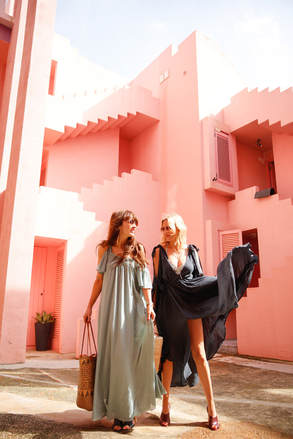 Belle & Bunty London for Free People Spain Muralla Roja Fashion bloggers
