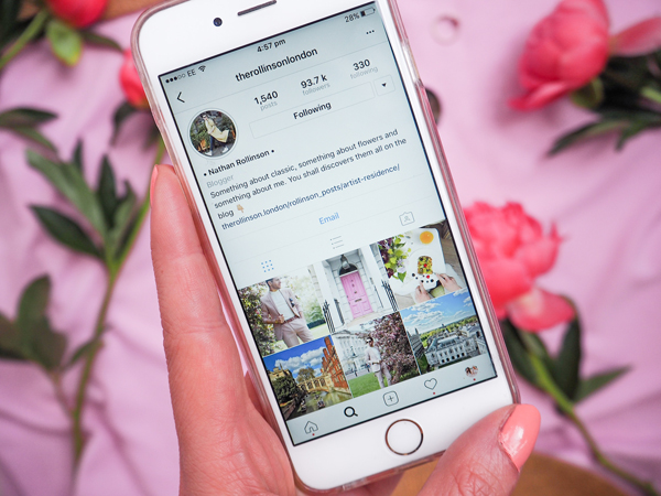 belle & bunty london fashion bloggers how to perfect an instagram photo the rollinson