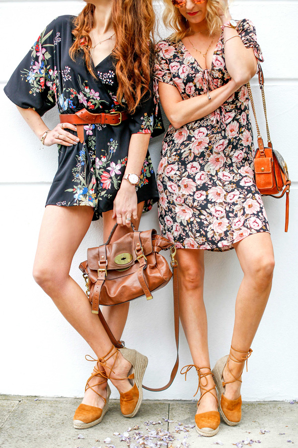 Belle & Bunty for London streetstyle floral lookbook chelsea flower show SS17