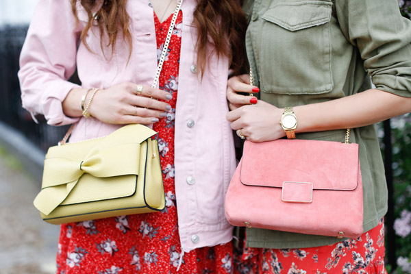 Belle & Bunty for London streetstyle tea dress shacket SS17 fashion bloggers