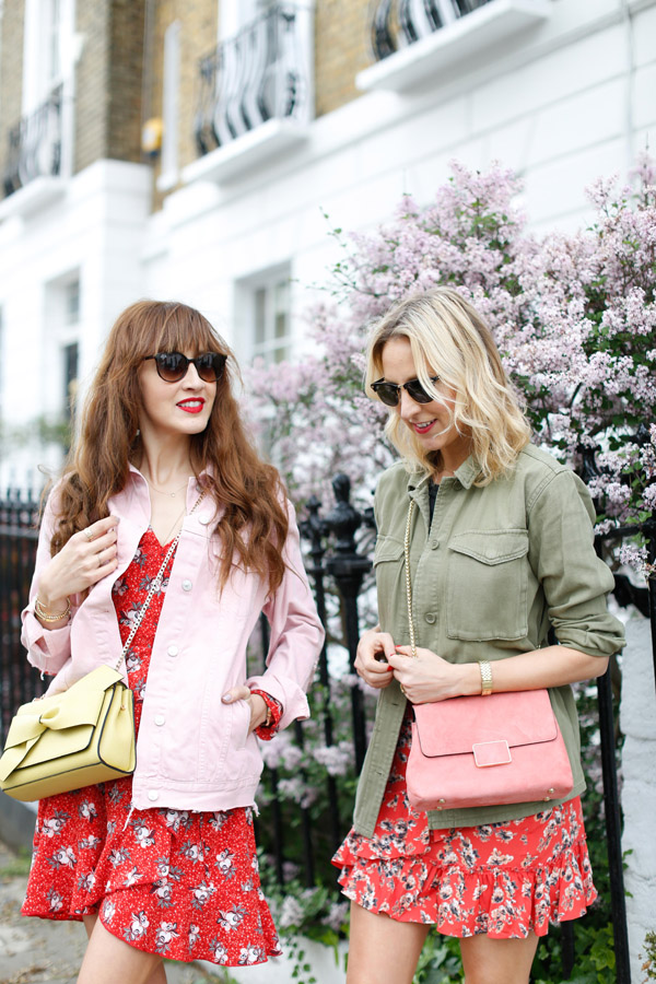 Belle & Bunty for London streetstyle tea dress shacket SS17 fashion bloggers