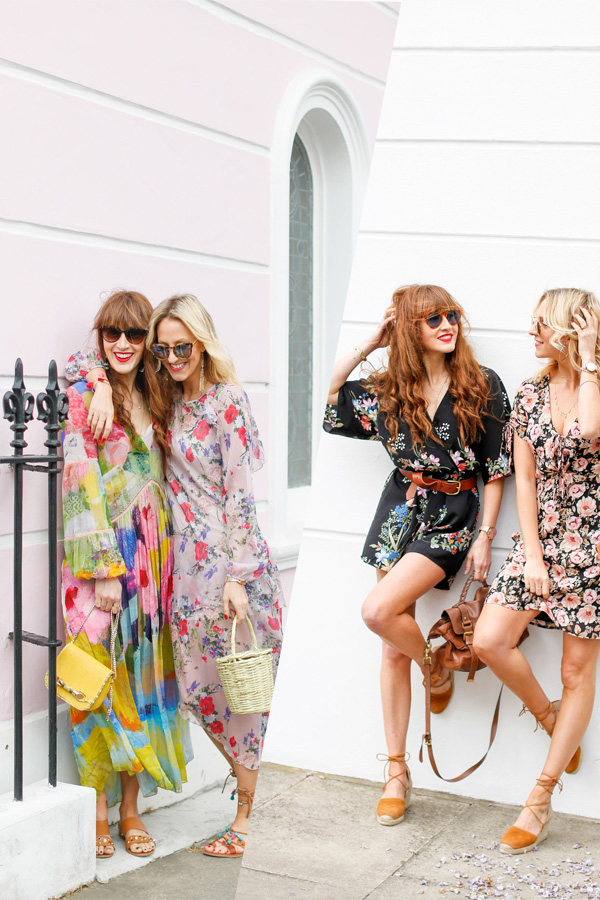 header Belle & Bunty London streetstyle floral lookbook chelsea flower show SS17
