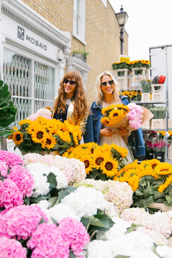 Belle & Bunty Blog Very Exclusive Columbia Road Flower Market London SS17 Margarita Karenko fashion bloggers