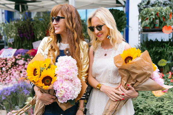 Belle & Bunty Blog Very Exclusive Columbia Road Flower Market London SS17 Margarita Karenko fashion bloggers