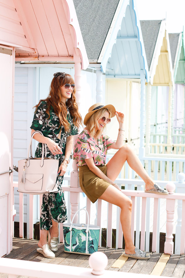 Belle & Bunty for Dune London Summer Mersea Island Beach hut pastel blog shoot SS17