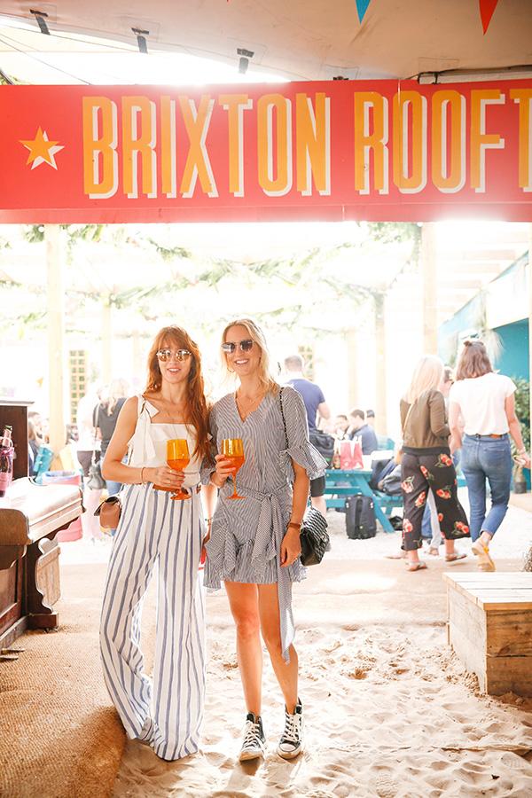 Belle & Bunty London Bloggers Brixton beach Chandon blog streetstyle