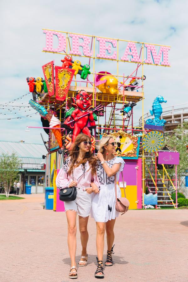 Belle & Bunty London Margate Dreamland Blog Shoot SS17 Margarita Karenko