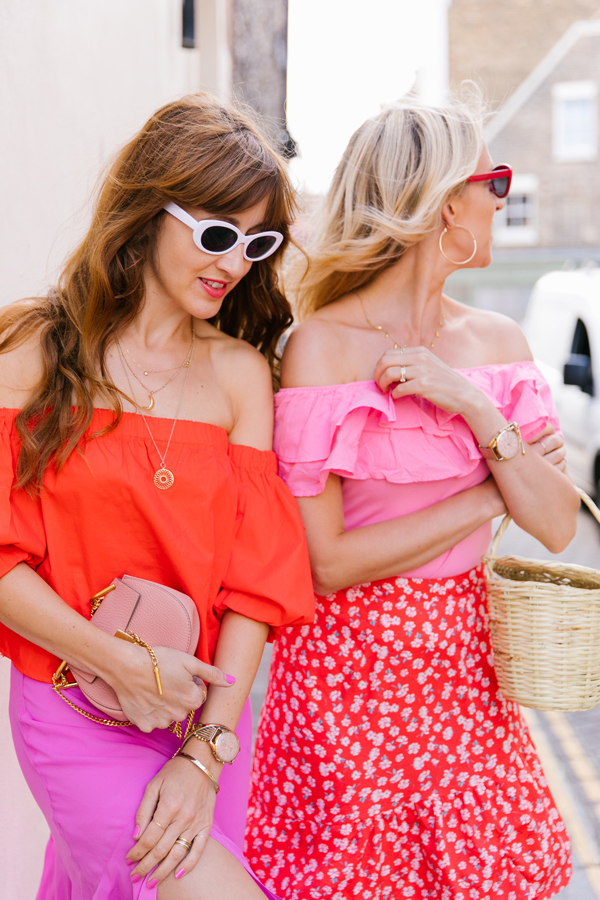 Belle & Bunty London Margate TOWN red and pink Summer Blog Shoot SS17 2017