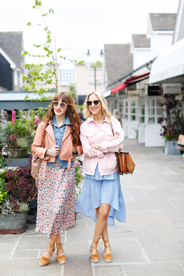Belle & Bunty London for Bicester Village Summer Blog Shoot designer discount outlet england