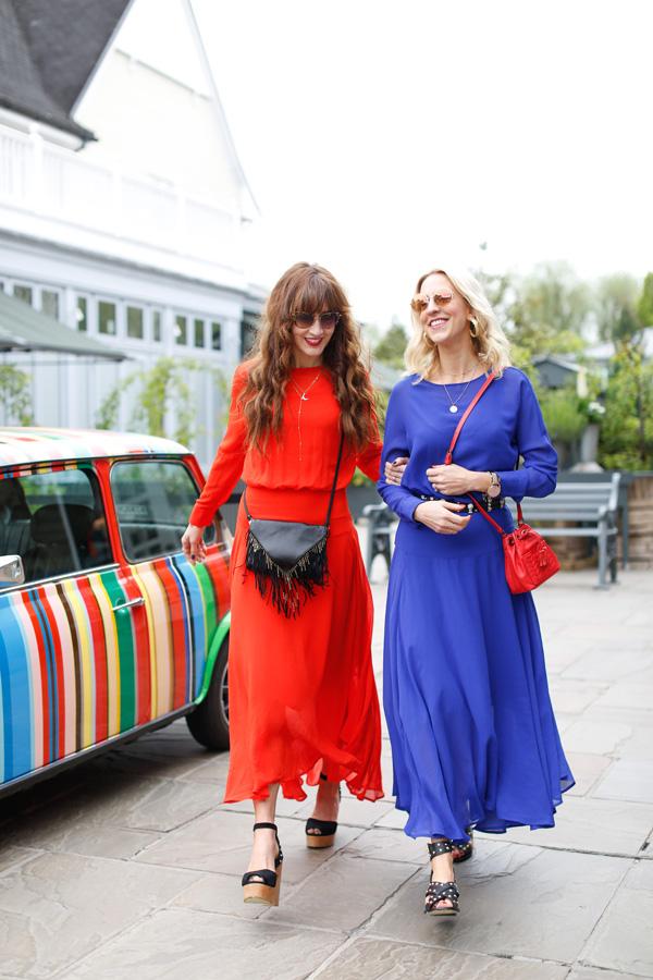 Belle & Bunty London for Bicester Village Summer Blog Shoot designer discount outlet england