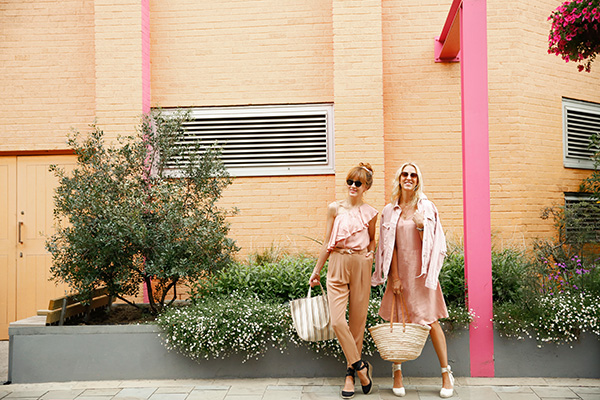 Belle & Bunty London Bloggers Streetstyle new neutrals