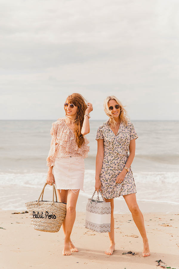 Belle & Bunty London Margate TOWN nude pastels Summer Blog Shoot