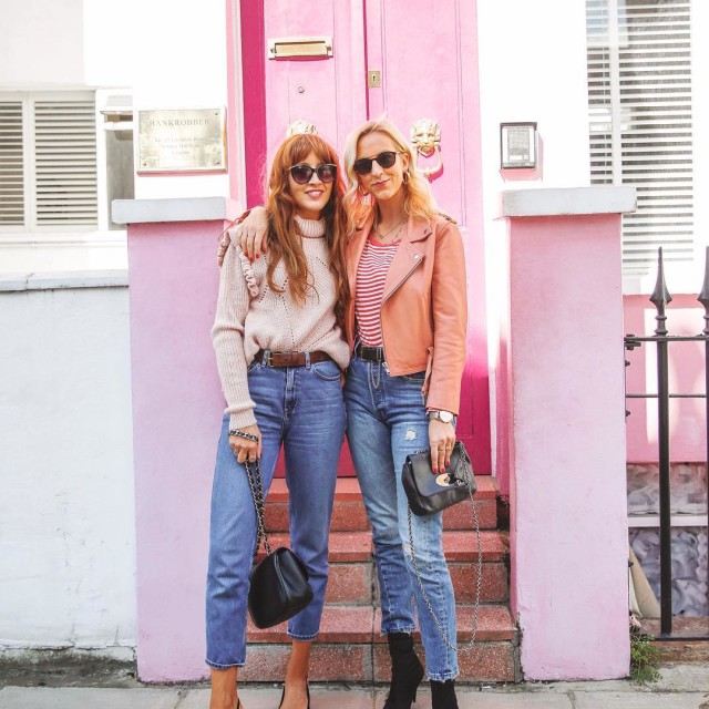 Skipping fashion week in favour of pink door posing morefun?hellip