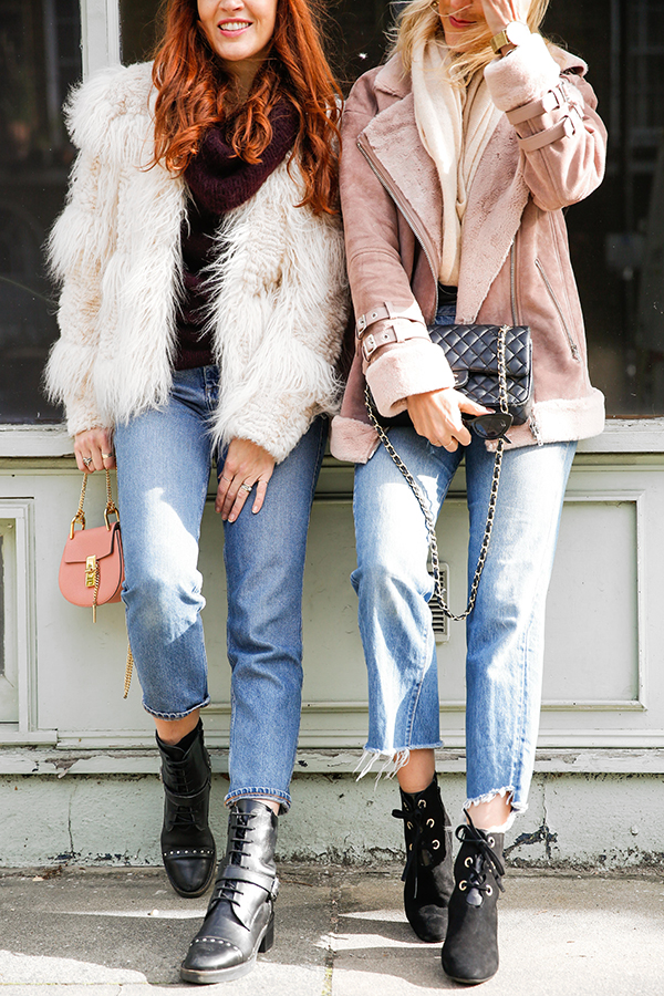 belle & bunny London blogger street style fashion asks aviator jackets vintage Levis