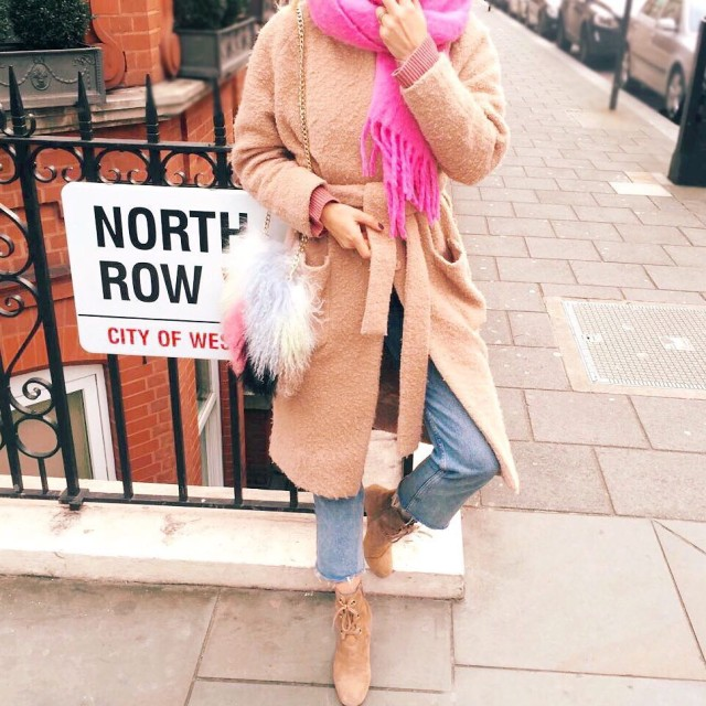 This freeze calls for coats that resemble dressing gowns! hellip