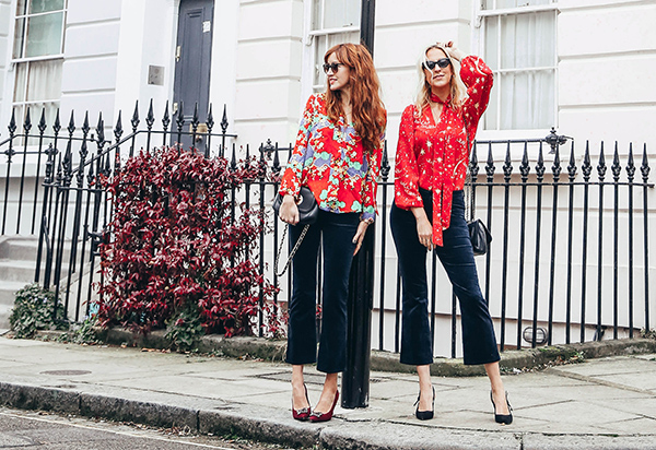 Belle & Bunny London bloggers style blog primrose hill trilogy rixo denim jbrand velvet