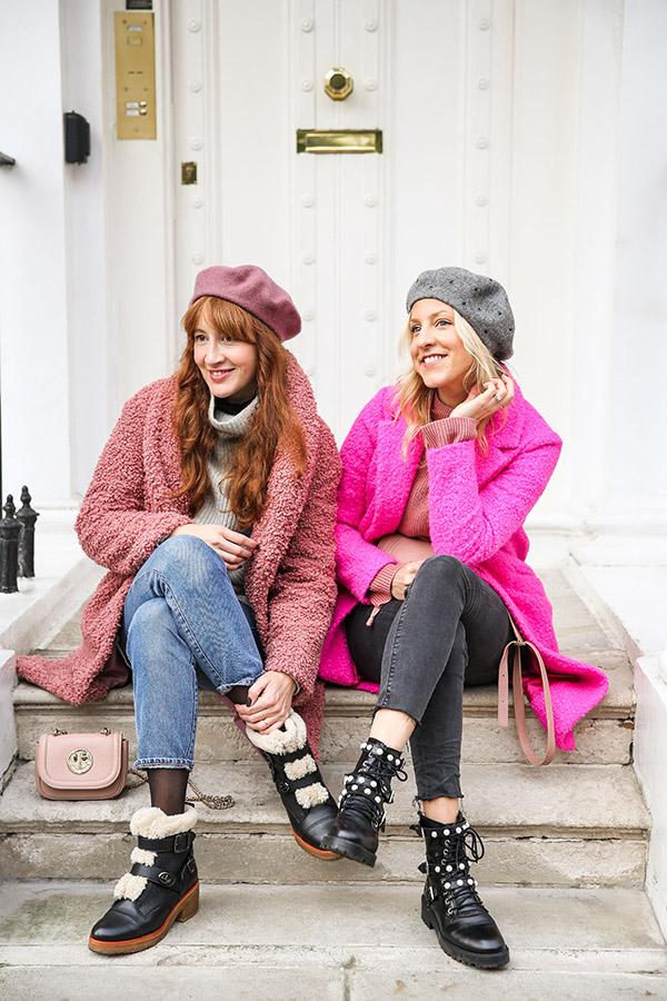 BelleBunty_SouthKensington pink coats winter inspiration-3159