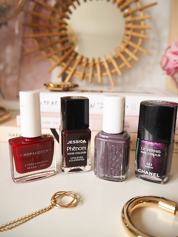 belle & bunny beauty fashion style bloggers Chanel Essie nails inc nail polish review