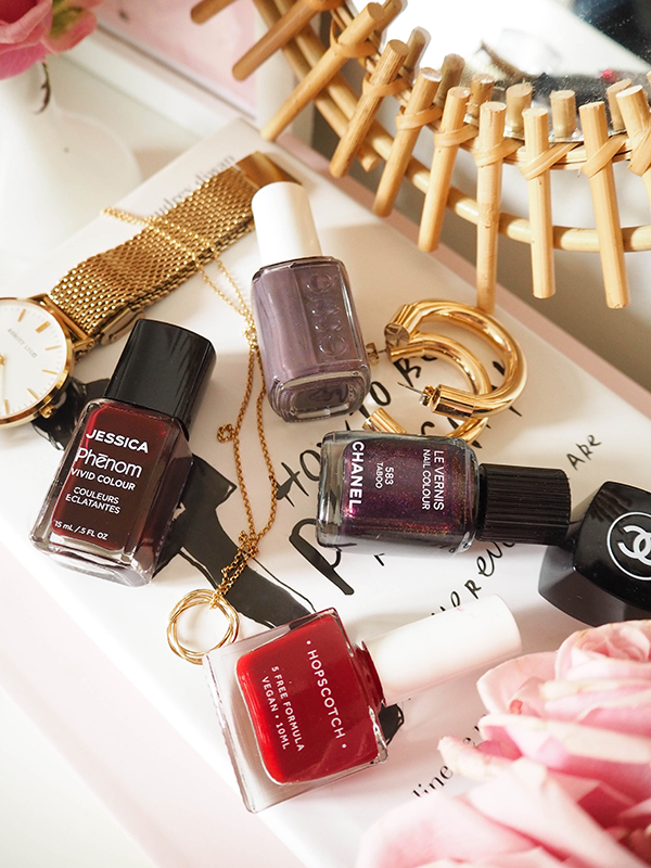 4 Winter Nail Polishes