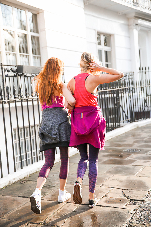 Belle & Bunny Zakti activewear London bloggers fashion style