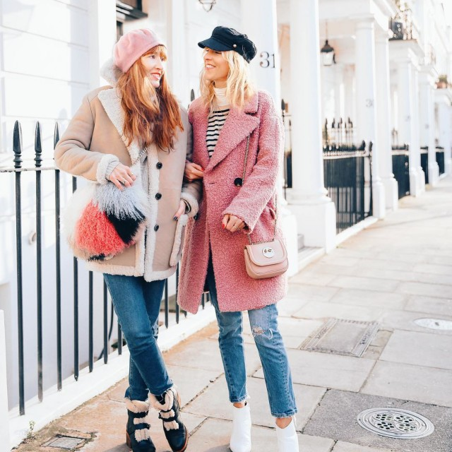 Possibly the polar opposite of our outfits today on Instagramhellip