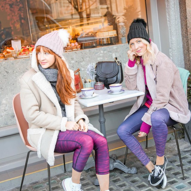 New cute pink cafe alert! We took our zaktiactive outfitshellip