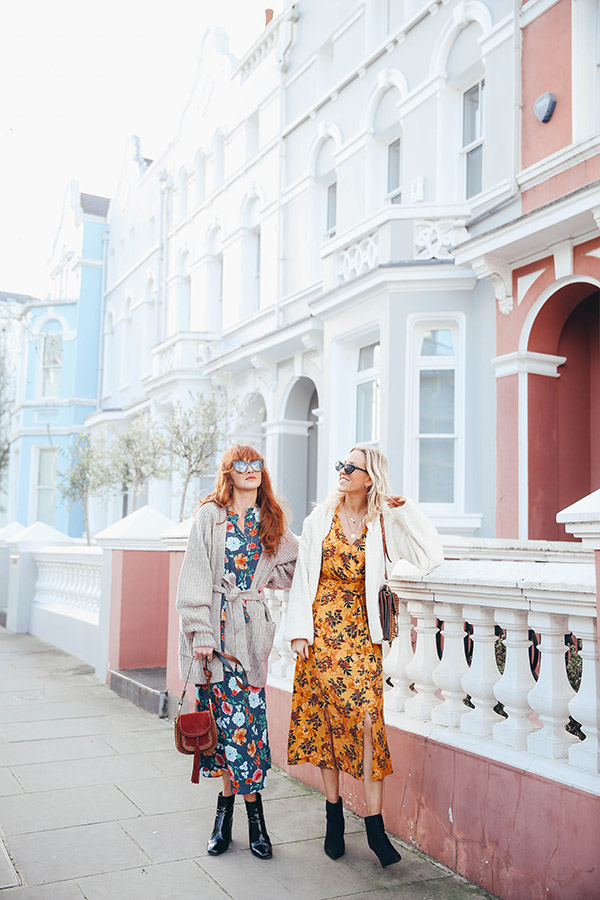BELLE & BUNTY NOTTING HILL PINK HOUSE FASHION BLOGGER LONDON 1