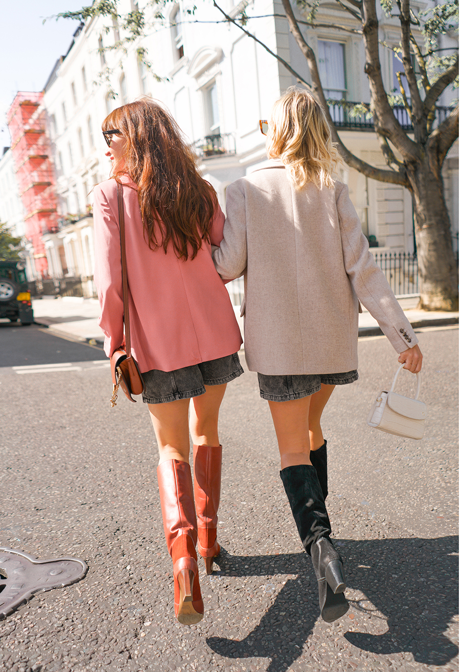 knee high boots blog post London fashion style influencers