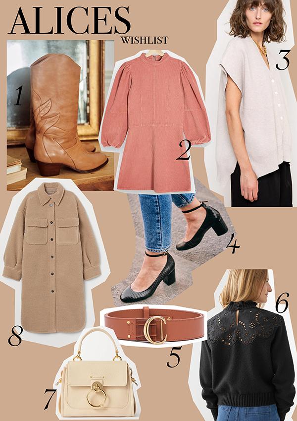 alice belle autumn Winter fashion shopping wishlist