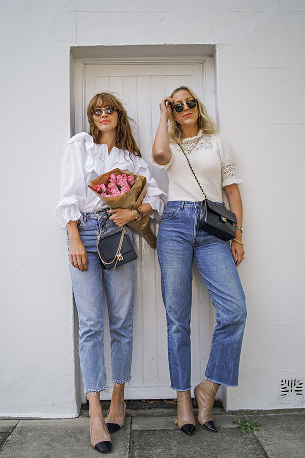 belle & bunty chanel dupe shoes blog post fashion london influencers 1