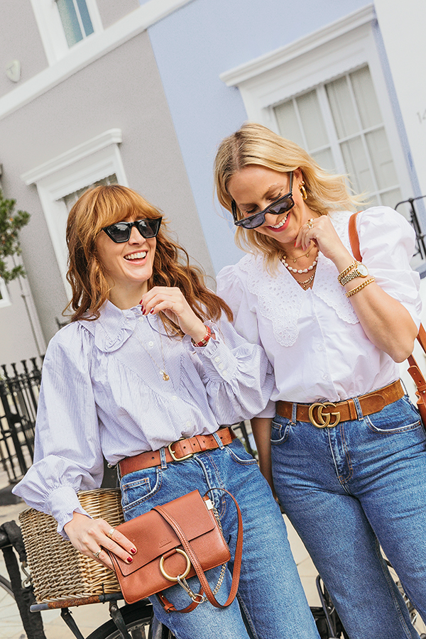 This trend definitely has us, ahem, collared!  The Statement collar made an appearance  last year with *ThaT insta~famous Ganni  shirt paving the way! Fast forward to this year and an oversize collar is everywhere which quite frankly we are pretty pleased about.